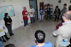 Foto del corso informativo tenutosi il 29 aprile 2016 presso l'hotel 1+1 di Pontecagnano Faiano per nuovi aspiranti volontari del sorriso e clown dottori; formatori Carmelo e Martina Giannì