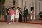 Madrina della serata Tiziana Iervolino Presidente Associazione Arcobaleno Marco Iagulli