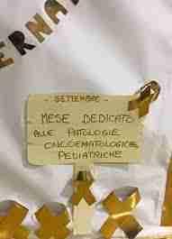 campagna di sensibilizzazione cancro infantile settembre 2017