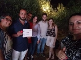 """Premio i Sensi del Volontariato """"Persona speciale"""" per  Giampiero Delli Bovi"""