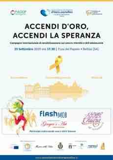 """25 settembre a Bellizzi  tutti in piazza per  dire """"Io lotto con te!"""""""